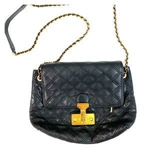 Marc Jacobs Quilted Leather Crossbody Bag